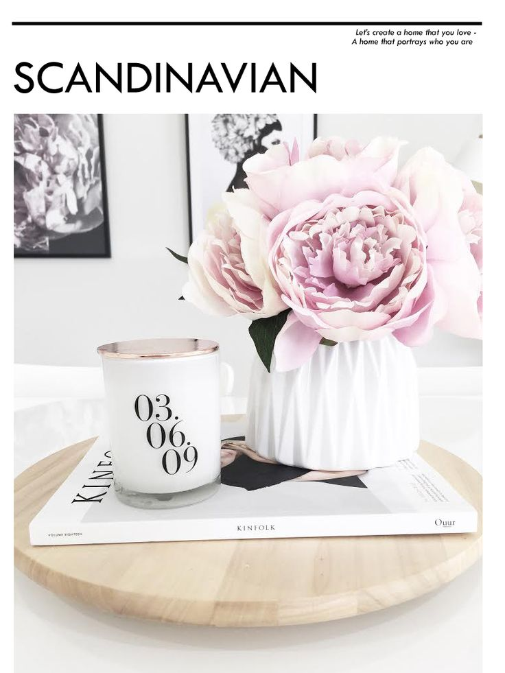 Interior Enthusiast - Scandinavian Style by Meg Caris