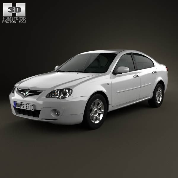 Proton Persona 2012 3d model from humster3d.com. Price: $75