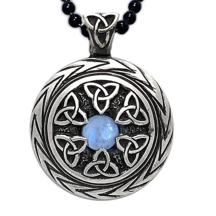 celtic moonstone pendant - 736×736