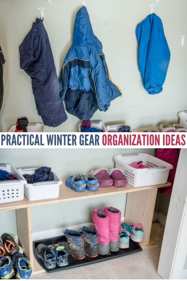 How To Organize Winter Hats Gloves And Boots Efficiently