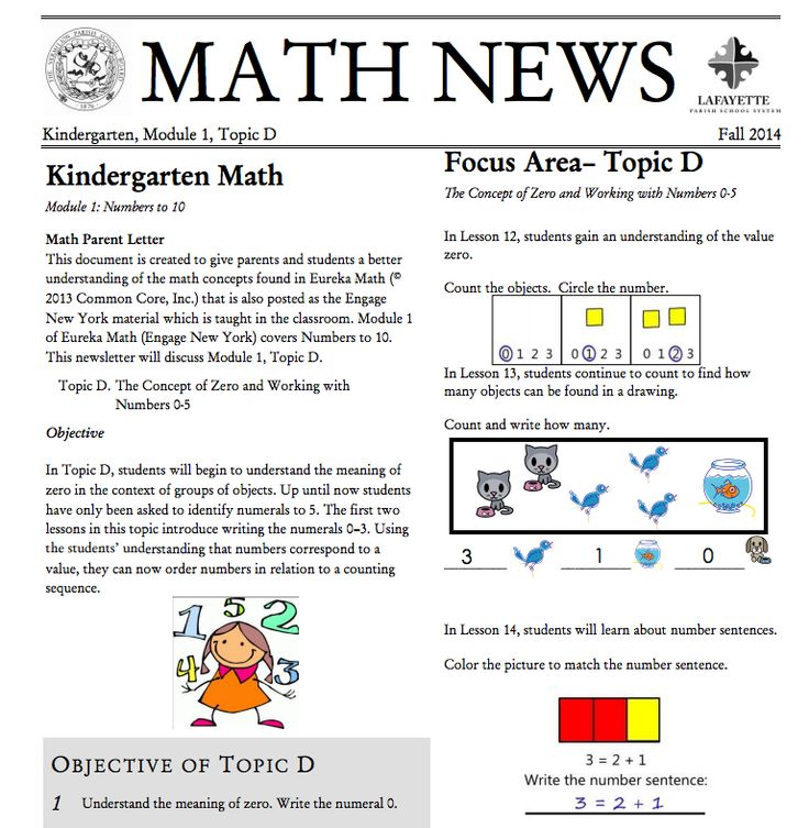 schools newsletter ideas