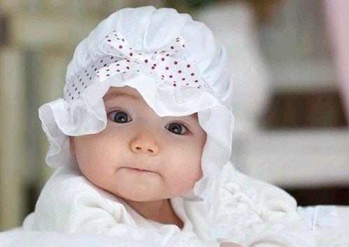 Voile Ruffled Sun Hat for Baby Girl: Ruffles Sun, Showers Cap, Newborn Hats, Baby Hats, Baby Girls, Beanie Hats, Voil Ruffles, Sun Hats, Baby Bonnets