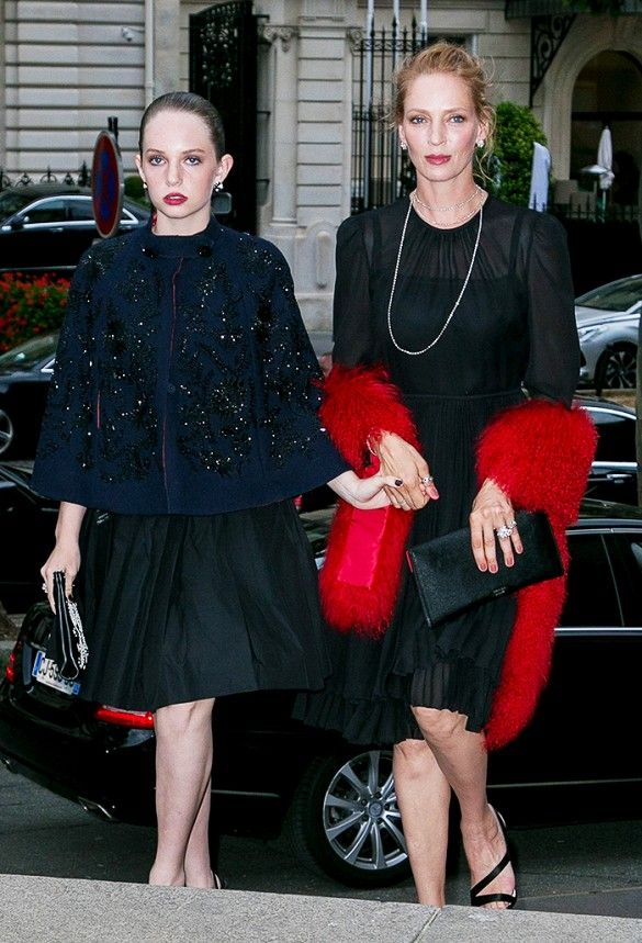 Uma Thurman and daughter Maya Hawke are both style stars in their own right