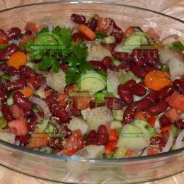 Salată de fasole roșie | Retete Pentru Tine