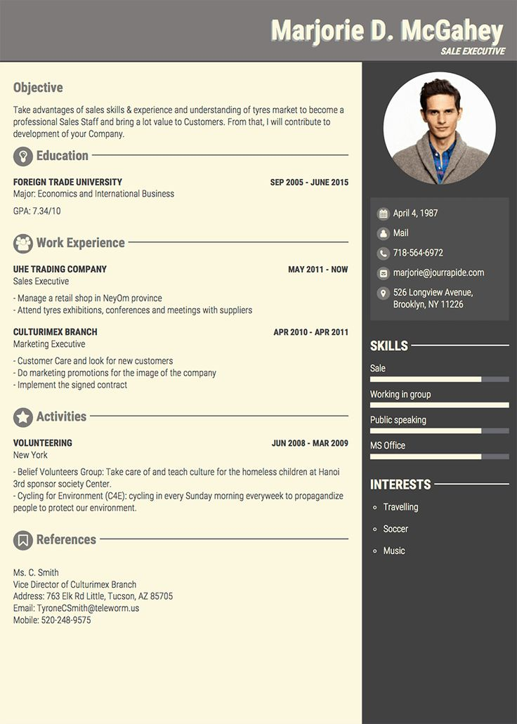 About me template cv 12 secrets you will not want to know