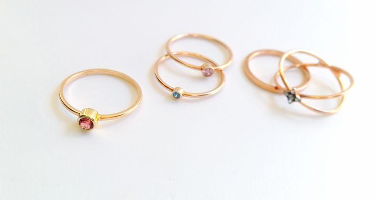 . ringdot details . #minimaldesign #rings #gold