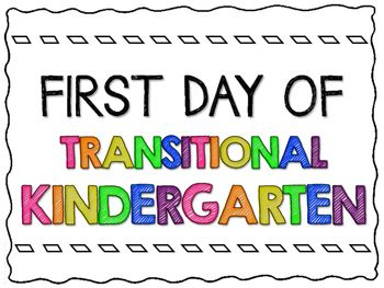 First Day of School Signs - Transitional... by Teaching with Ninjanuity | Teachers Pay Teachers