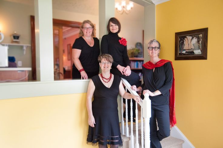 The altos of the Canadian Chamber Choir