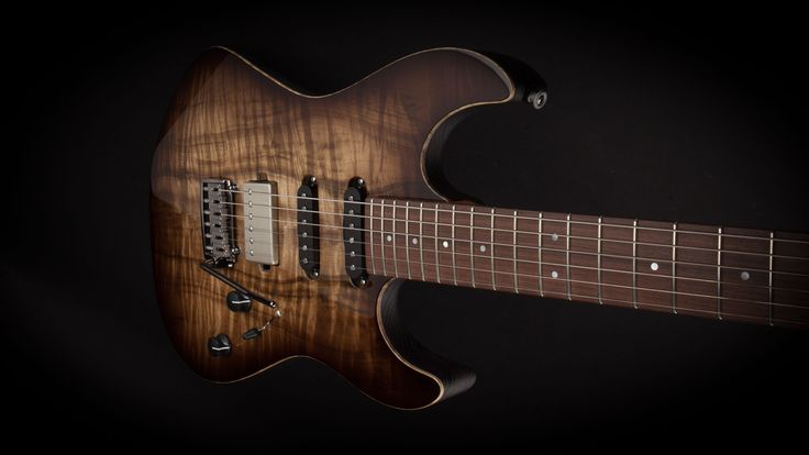 Patrick James Eggle 96 Drop Top Myrtlewood Gloss #14301 - World Guitars – UK Guitar Store with Worldwide Delivery