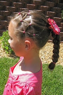 Has lots of great hair styles.  I just need my daughter to be patient with me while I learn.