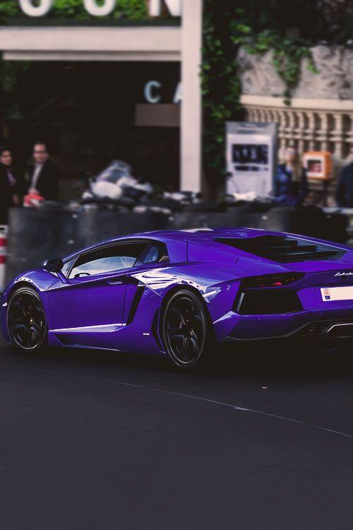 dream-villain: Purple Aventador by Bas Fransen