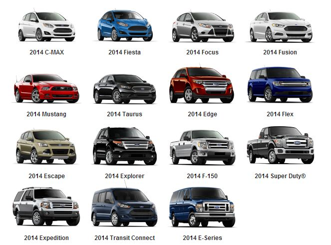 Quot The 2014 Ford Model Lineup Quot Pinned By Bozard Ford Lincoln
