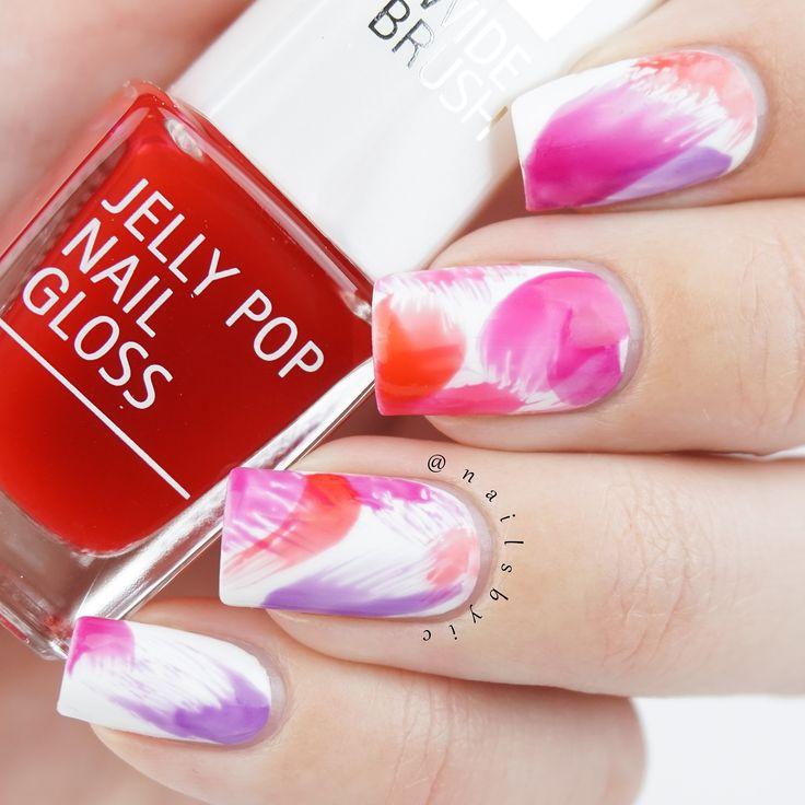 38 best isadora nail polish swatches and nail art images on isadora jelly pop nail gloss simple nail art prinsesfo Images