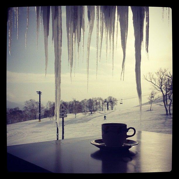 #coffee break /// niseko, japan /// photography by rickard vikstrom #winter