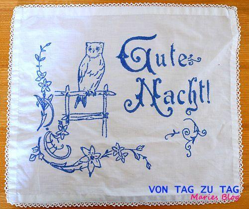 Von Tag zu Tag - Maries Blog: Vintage Stickmuster aus Uromas Zeiten
