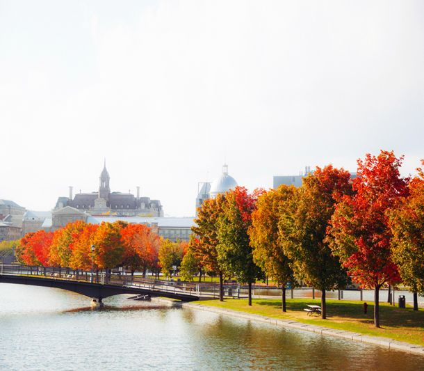 Lachine canal in Montreal.