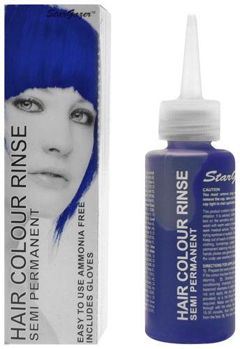 Coloration STARGAZER - Royal Blue - #Teinture Bleue #Cheveux Semi Permanente Pour une #Coiffure #Gothique #Rock #Punk http://rockagogo.com