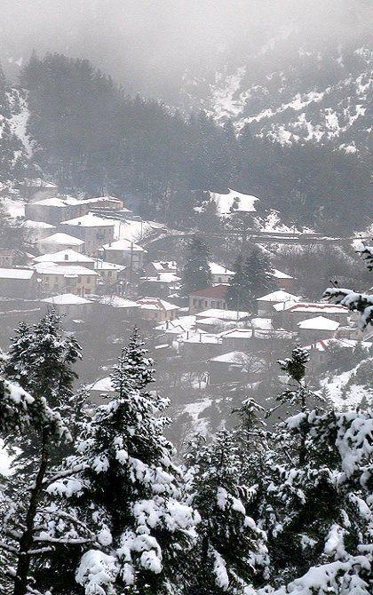 Alonistena village, Arcadia (Peloponnese), Greece   by dim