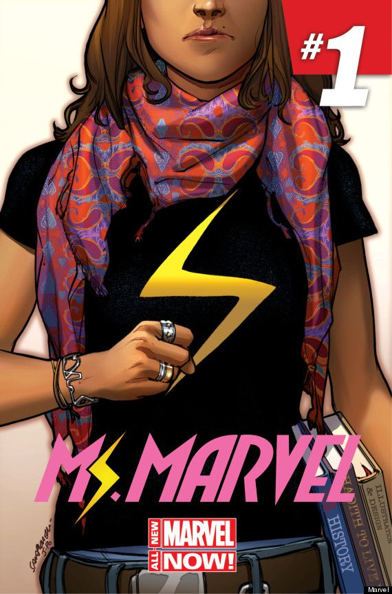Marvel Muslim Girl Superhero Kamala Khan Destroys Bad Guys As Well As StereotypesComics Book, Ms Marvel, Marvel Comics, Muslim Girls, Book Covers, Marvel Universe, Covers Art, Captain Marvel, New Jersey