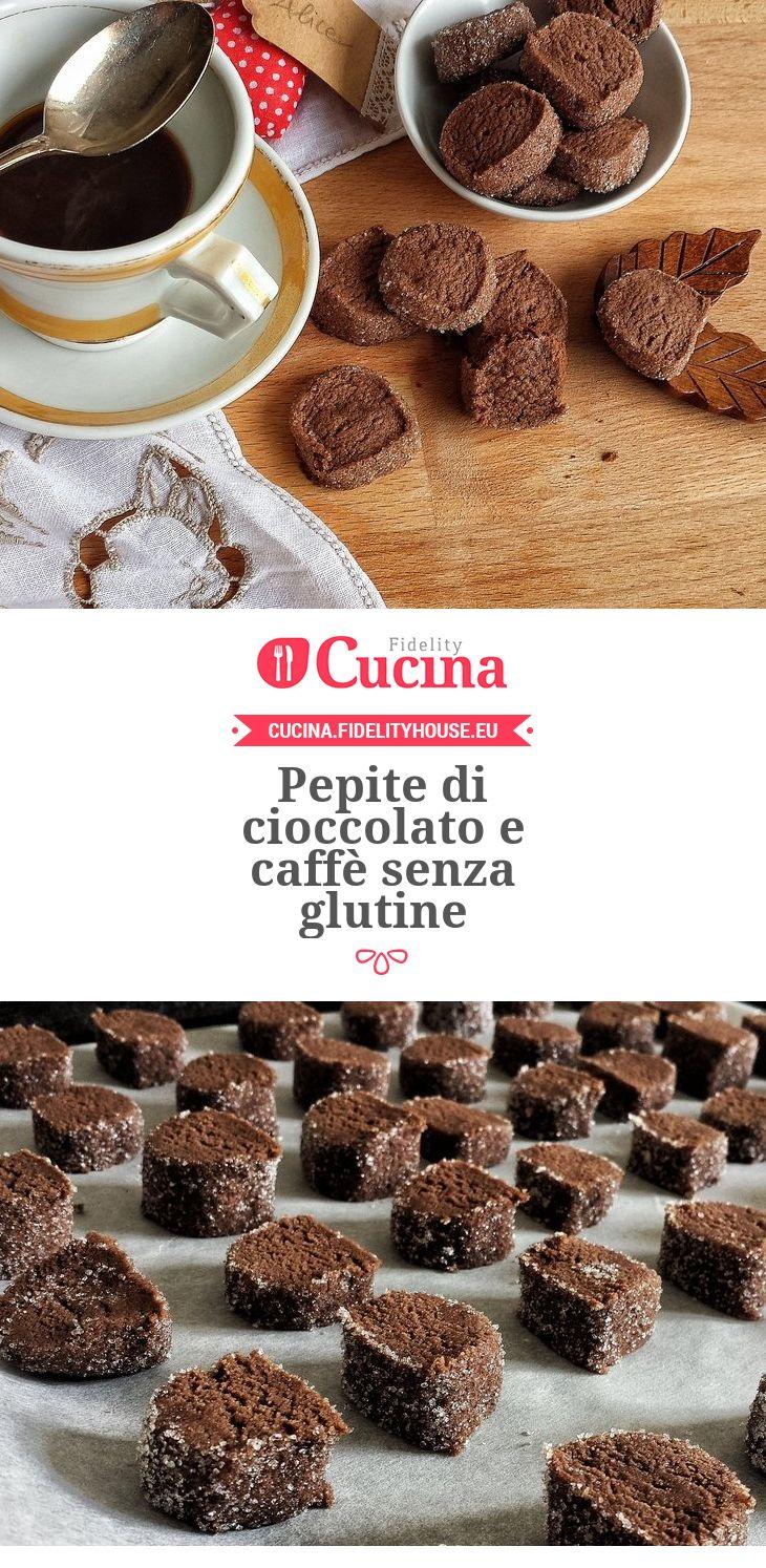 Pepite di #cioccolato e #caffè senza glutine della nostra utente Alice. Unisciti alla nostra Community ed invia le tue ricette!