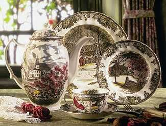 friendly village dishes...........LOVE LOVE my coffee pot........the pattern is gorgeous.........there is nothing like vintage & antique......for a 1910 farmhouse.....