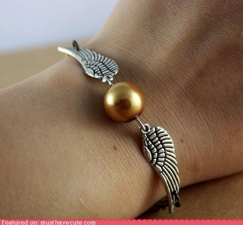 Snitch Bracelet. Muggles wouldn't get it.