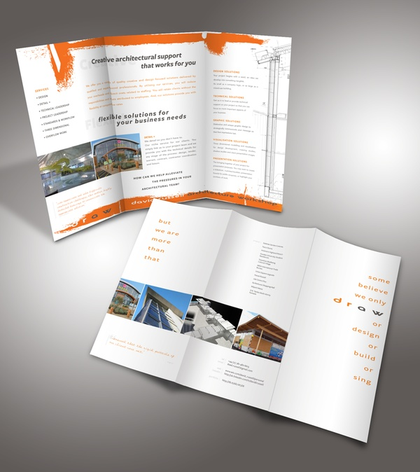3d brochure design - 17 best images about draw david russell architecture