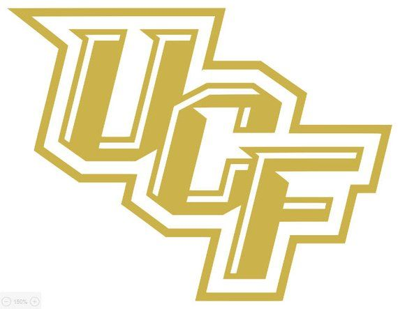 Ucf Knights Decal Ucf Knights Ucf College Graduation Cap Decoration