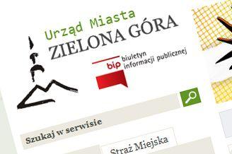 Serwis miejski - miasto Zielona Góra