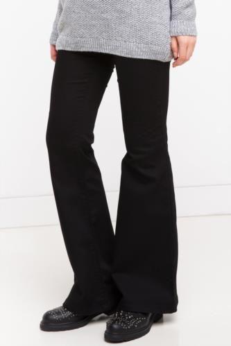 Pantolon - Yüksek Bel İspanyol Paça Pantolon