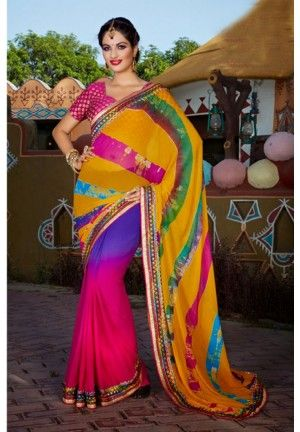 Georgette Lehriya Saree Georgette Lehriya Saree Product Code: FHLASANG1275 Availability:In Stock Price: Rs.2,028