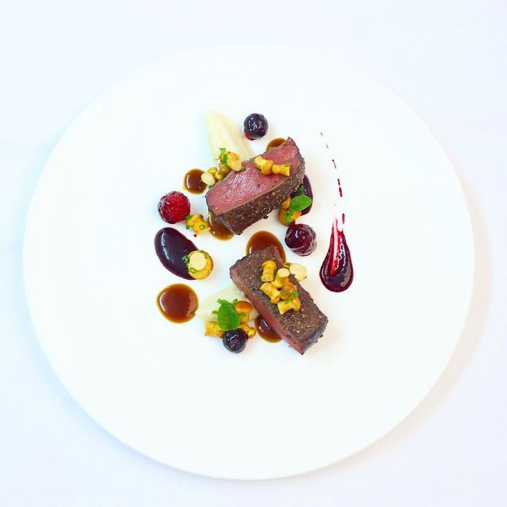 Foodstar Valentin Knoerle (@hotel_haus_am_see) shared a new image via Foodstarz PLUS /// Venison Berries Celeriac Chanterelles  #venison #berries #celeriac #chanterelles #plating #foodstarz  If you also want to get featured on Foodstarz just join us create your own chef profile for free and start sharing recipes images and videos.  Foodstarz - Your International Premium Chef Network by foodstarz_official