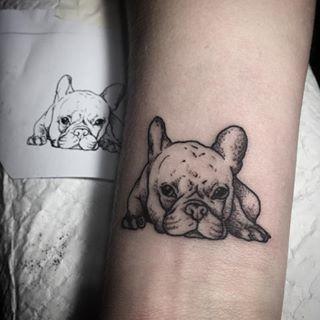 french bulldog tattoos - Google Search