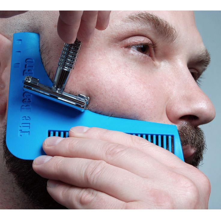 The Beard Bro Beard Shaping Tool For Perfect Lines and Symmetry