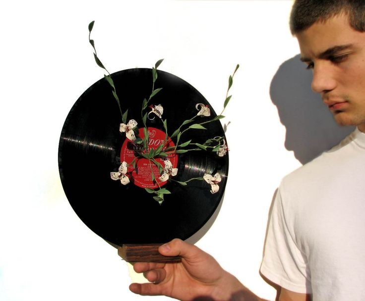 Let's Hear It Once More For The Record - Romantic Music Sheet Origami Flower Sculpture by PaperDisciple and Tanja Sova - pinned by pin4etsy.com