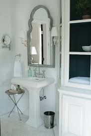 Small Table Idea Half Bath Pedestal Sink Decorating Ideas   Google Search