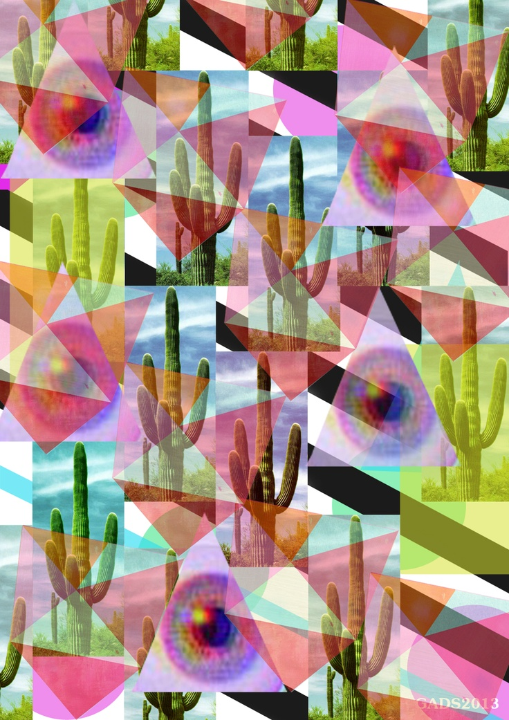 Psychedelic cactus By GADS
