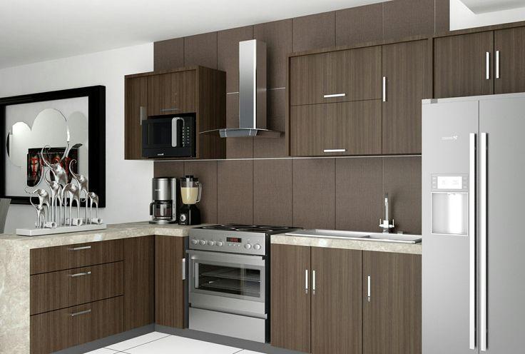 Diseño de cocina de vivienda  para constructora Grupo Dasol