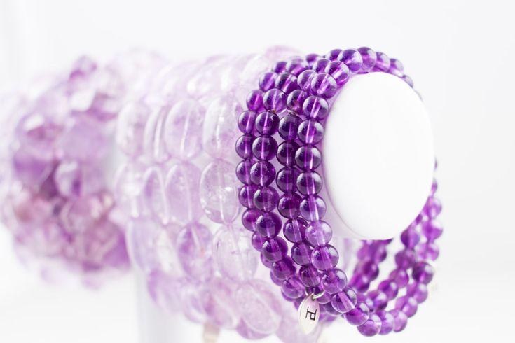 Amethyst Bracelets   #amethyst #jewelry #bracelet
