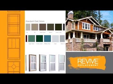 Introducing REVIVE pocket replacement windows from Windsor Windows & Doors.  www.windsorrevive.com