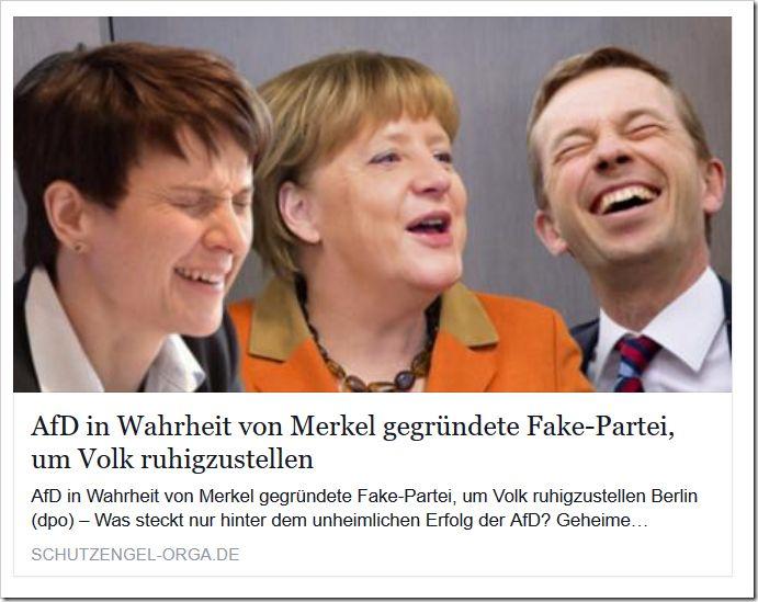Ist die AfD in Wahrheit eine von Merkel gegründete Fake-Partei?  http://www.mimikama.at/allgemein/ist-die-afd-in-wahrheit-eine-von-merkel-gegrndete-fake-partei/