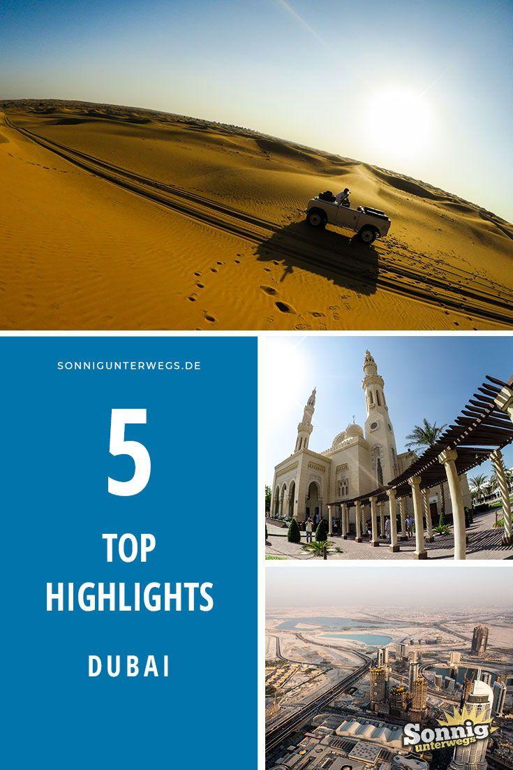 Top 5 Highlights in Dubai | Reisen, Reiseziele und Dubai