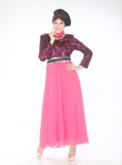 Gamis Cantik nuansa Princess dengan warna yang manis, Inspirasi Anda dalam Berbusana