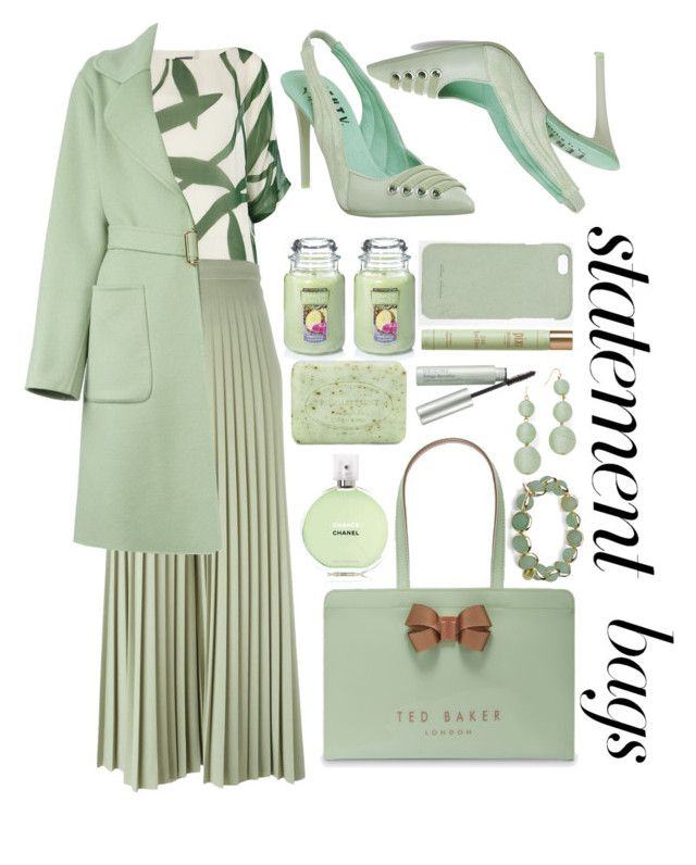 """""""Mint bag"""" by puljarevic ❤ liked on Polyvore featuring Ted Baker, Phase Eight, Givenchy, Rochas, Puma, Chanel, Yankee Candle, Rick Owens, Pré de Provence and BEA"""