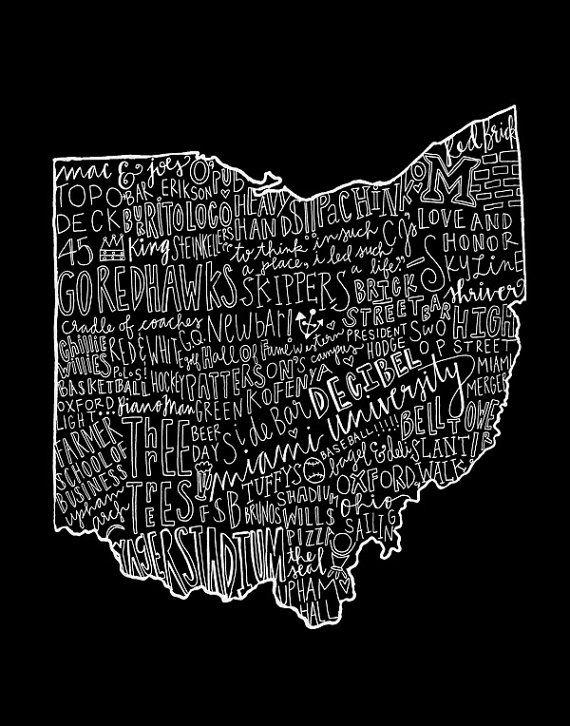 Oxford Ohio by seaworthi on Etsy, $20.00