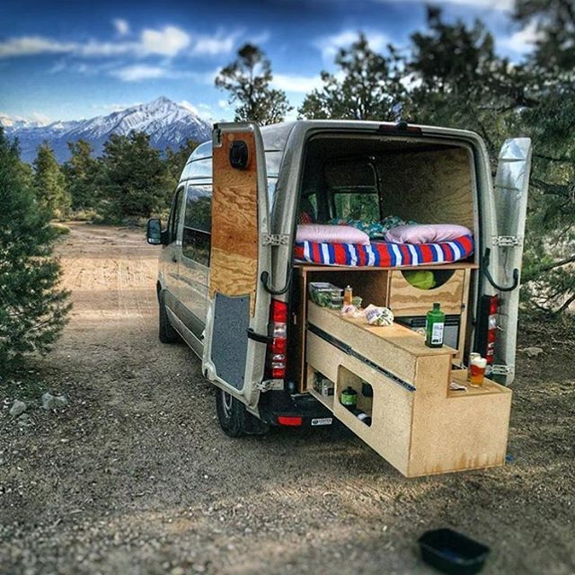 @kris_lunning each time I see this van I wonder if there is a cake baking in that oven. Love it. #vanlifediaries you are the inspiration. ✖️posted by @youandiandthesky