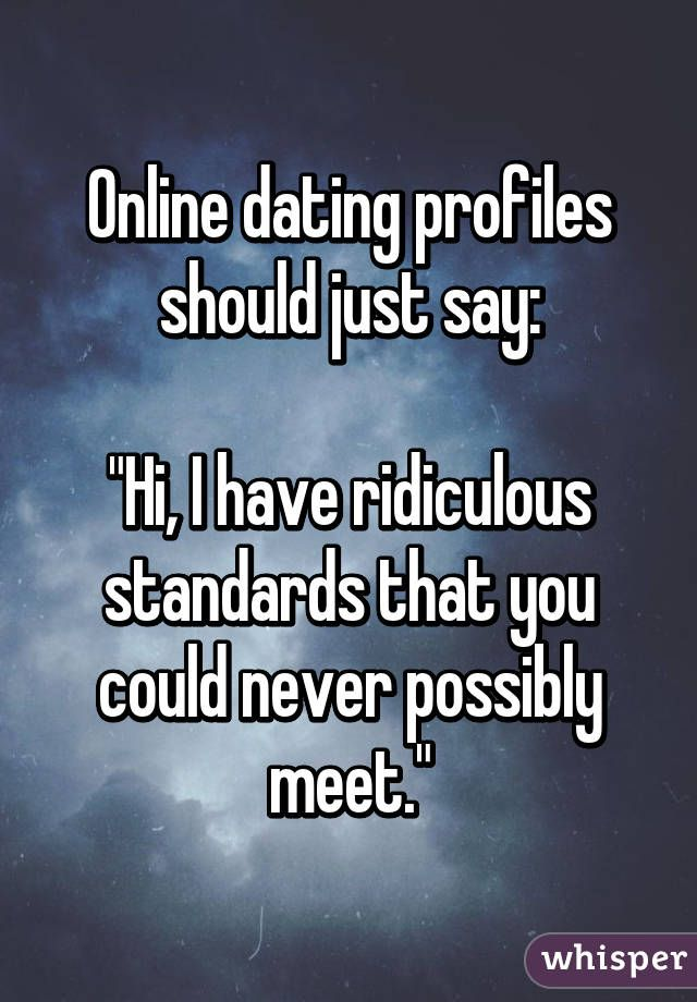 """decoding online dating profiles Decoding the dating excuses  we see more """"it's complicated,"""" relationship status updates on social media profiles  breaking down the online dating jargon ."""