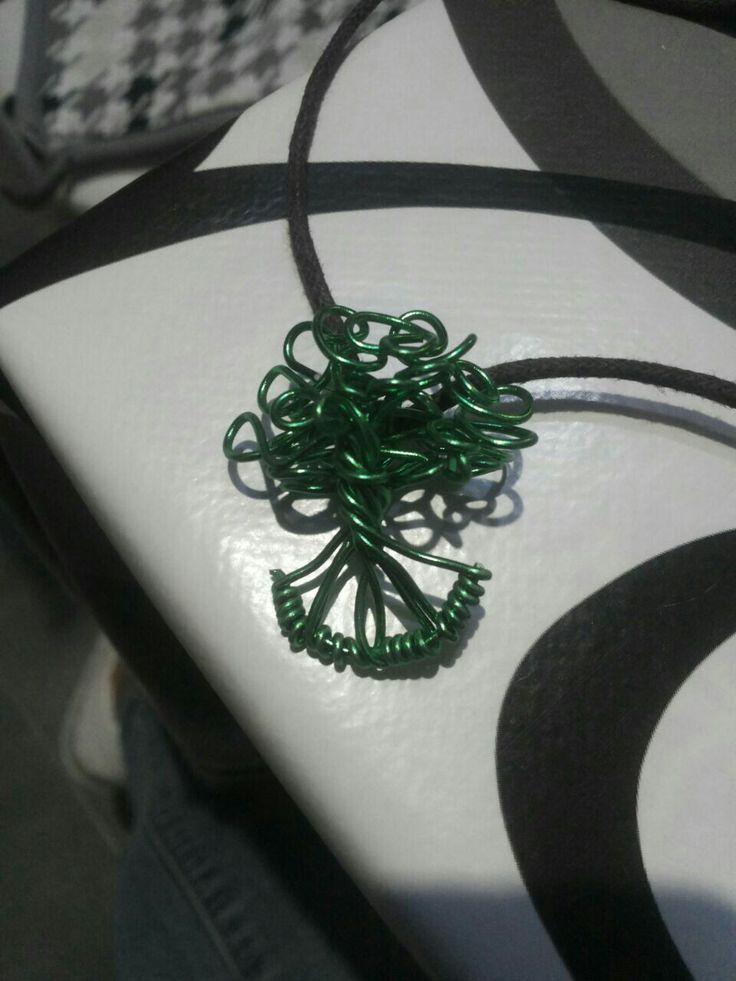 Ciondolo mini tree wire