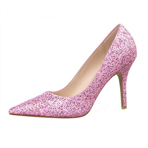 Zapatos - $61.54 - Zapatos Salón Tacón stilettos Brillo Chispeante (1625118203)
