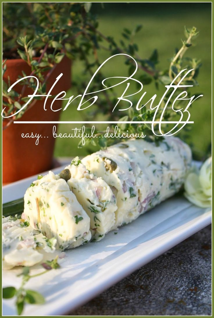 StoneGable Herbed Butter